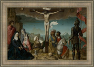 The Crucifixion by Juan de Flandes