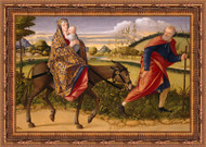 Flight into Egypt by Vittore Carpaccio