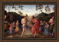 The Baptism of Christ by Pietro Perugino