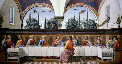 The Last Supper by Domenic Ghirlandaio