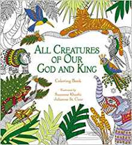 All Creatures of Our God and King Coloring Book - 50% off