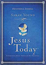 Jesus Today: Experience Hope Through His Presence - Devotional Journal by Sarah Young
