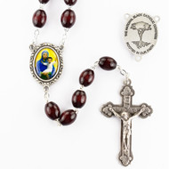 EXCLUSIVE BLACK MADONNA ROSARY
