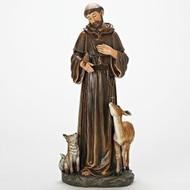 """St. Francis 18""""H Figure"""