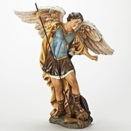 "St. Michael 18.75""H Figure"