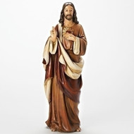 "Sacred Heart of Jesus 18""H Figure"