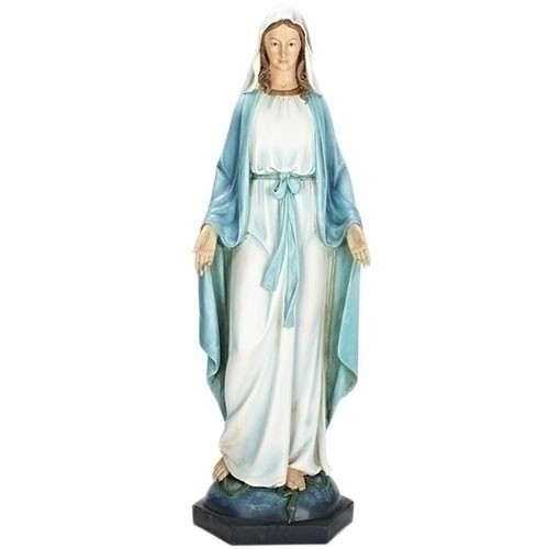 "Our Lady of Grace 40""H Figure"