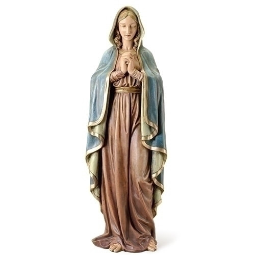 "Praying Madonna 37.5""H Figure"