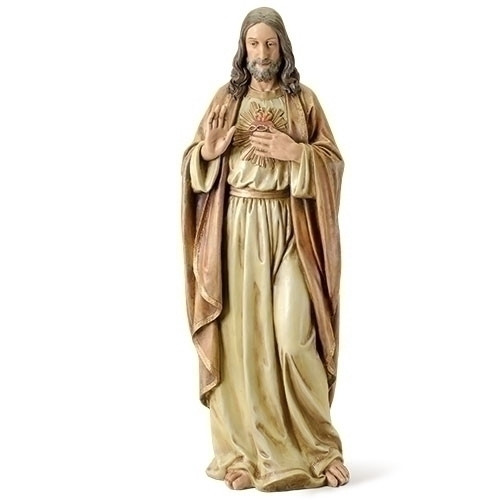 "Sacred Heart of Jesus 37.5""H Figure"