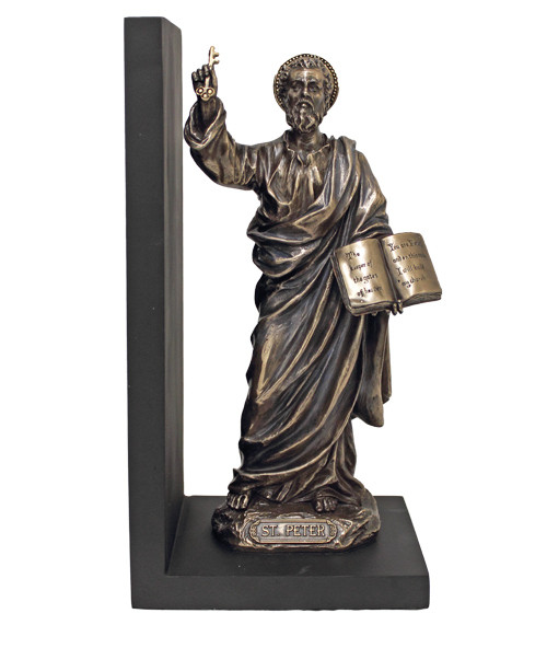 St. Peter Bookend (bronze or pewter)