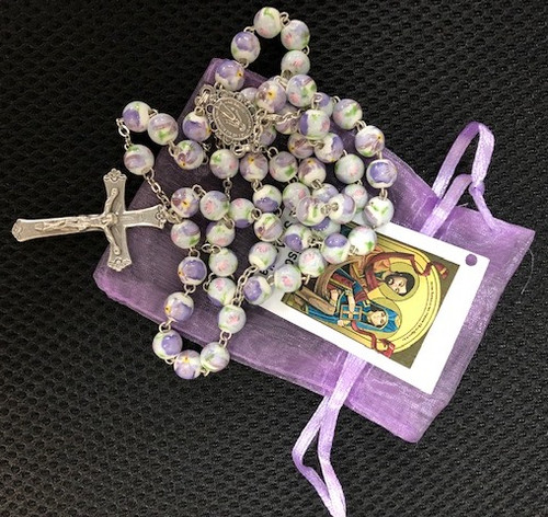 St. Priscilla Exclusive Handmade Rosary