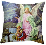Guardian Angel Double-sided Pillow