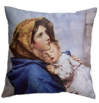 Madonna of the Streets Double-sided Pillow