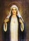 Immaculate Heart of Mary Stretched Canvas Print