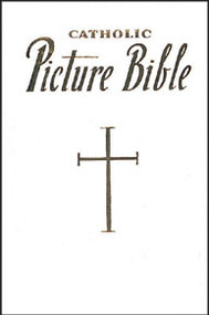 NEW CATHOLIC PICTURE BIBLE (white)