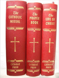 The Catholic Missal, The Prayer Book, The Life of Christ (3-Book Set) (Hardcover)