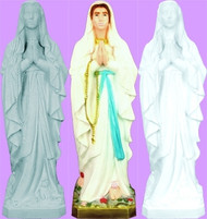 OUR LADY OF LOURDES OUTDOOR STATUE 24""