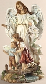 Classic Guardian Angel Figure