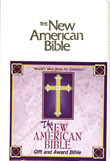 Gift and Award Bible-NAB (white)