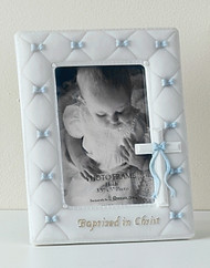 Baptism Boy Photo Frame