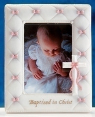 Baptism Girl Photo Frame