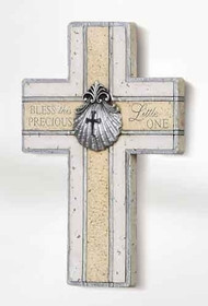Baptism Wall Cross