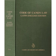 Code of Canon Law - Latin-English Edition