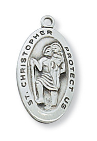 ST. CHRISTOPHER MEDAL L388