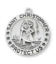 ST. CHRISTOPHER MEDAL L313