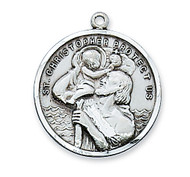 ST. CHRISTOPHER MEDAL L109