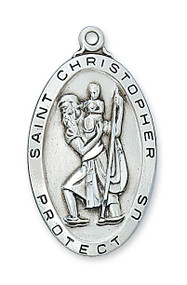 ST. CHRISTOPHER MEDAL L462
