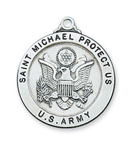ST. MICHAEL ARMY MEDAL L650AM