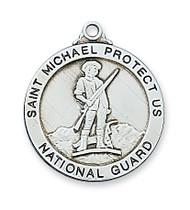 ST. MICHAEL NATIONAL GUARD MEDAL L650NG