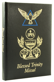Black Blessed Trinity Missal and Prayer Book