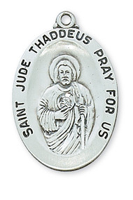 ST. JUDE MEDAL L336JU