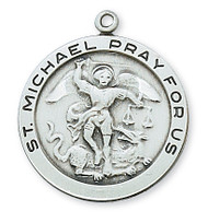 ST. MICHAEL MEDAL L420MK