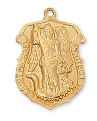 ST. MICHAEL MEDAL J414