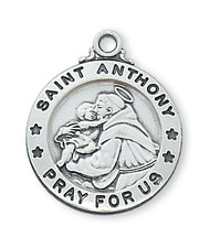 ST. ANTHONY MEDAL L600AN