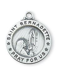 ST. BERNADETTE MEDAL L700BD
