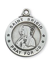 ST. BRIGID MEDAL L700BDG