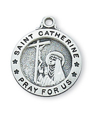 ST. CATHERINE OF SIENNA MEDAL L700CTS