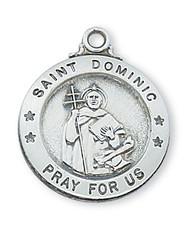 ST. DOMINIC MEDAL L600DMN