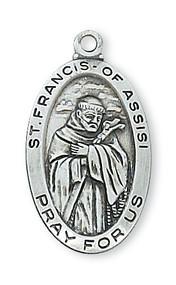 ST. FRANCIS MEDAL L500FR