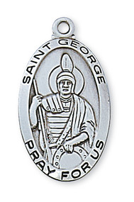 ST. GEORGE MEDAL L550GE