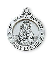 ST. MARIA GORETTI MEDAL L700MG