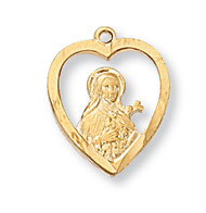 ST. THERESE LITTLE FLOWER  MEDAL J426TF