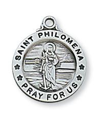 ST. PHILOMENA MEDAL L700PH