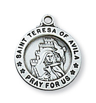 ST. TERESA OF AVILA MEDAL L700TH