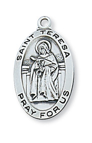 ST. TERESA OF AVILA MEDAL L500TH