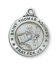 ST. THOMAS AQUINAS MEDAL L600TQ